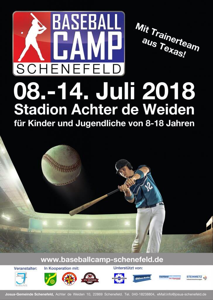 Plakat Baseballcamp 2018-1