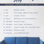 Josua Lounge Jahresplanung 2019