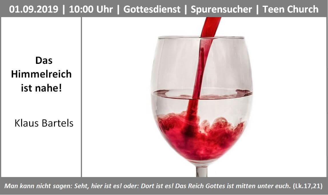 Themenbild Himmelreich 01.09.19