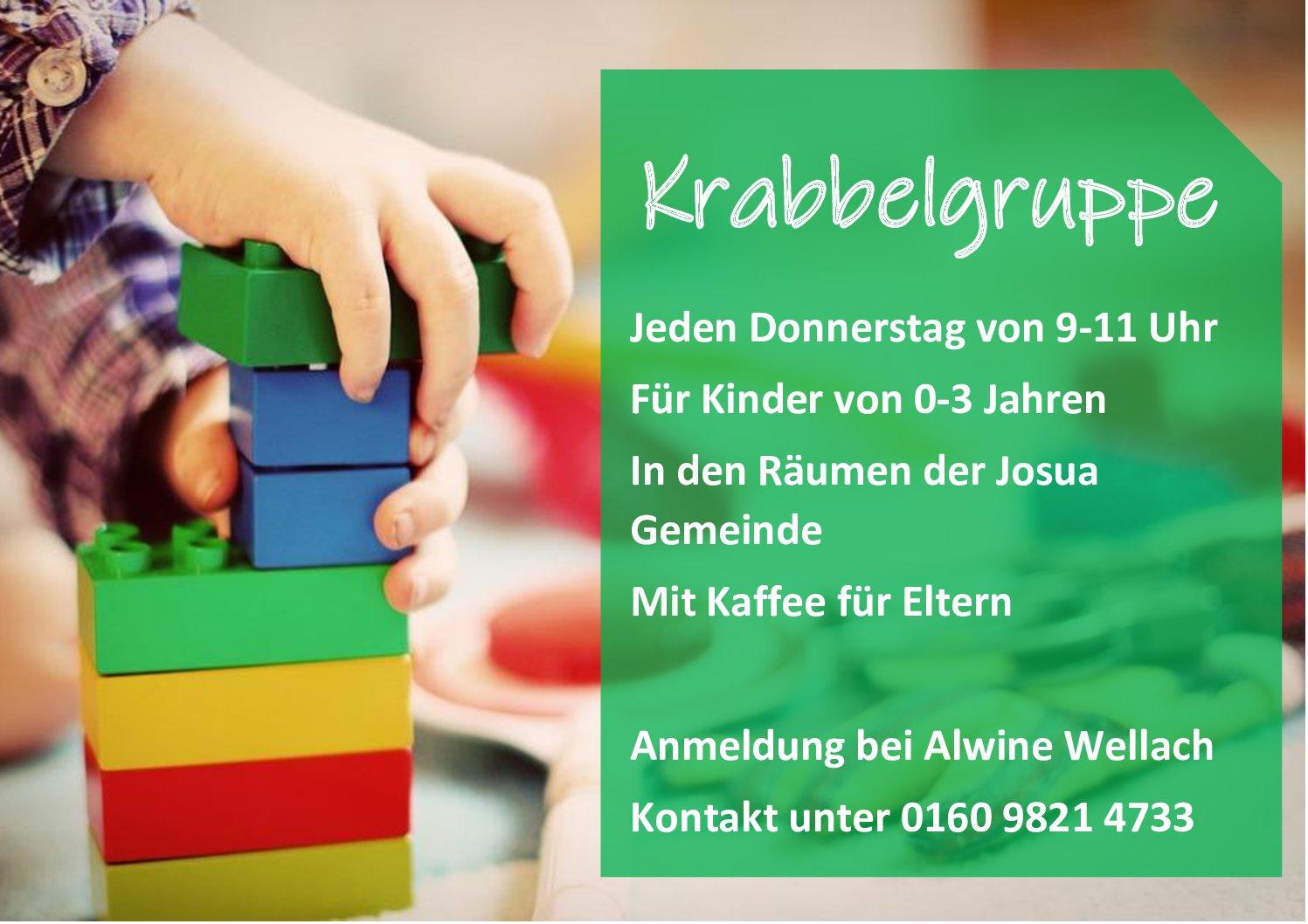 Flyer Krabbelgruppe